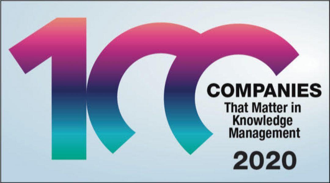 Semantic Web Company parmi les meilleures sociétés de gestion de la connaissance au monde